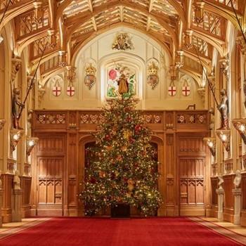 Windsor Castle Christmas Tree